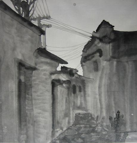 水墨皖南组画 - 悟之墨语 - 悟之墨语的艺术博客