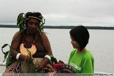 雨林妇女show绚丽多彩的雨林生活 - 绿色和平 保护地球环境 - 绿色和平