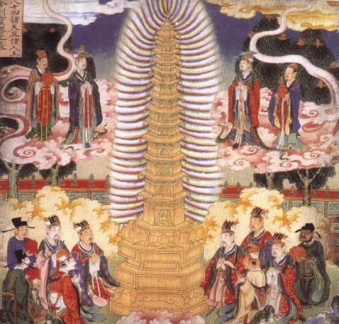 【转载】佛 教 壁 画 - 杨毅 - 尚义轩杨毅剪纸艺术工作室