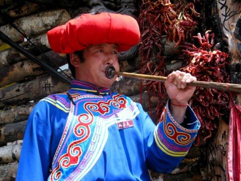 羌寨风  古碉情(3)(原创散文) - 右岸左人 - 烟雨行囊:右岸左人的部落客