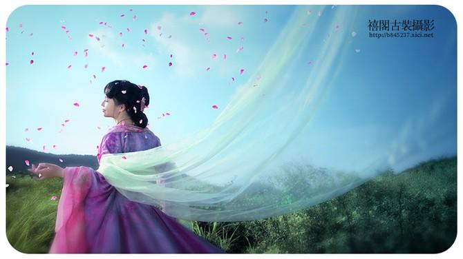 古装美女 - 水晶之恋 - 水晶之恋