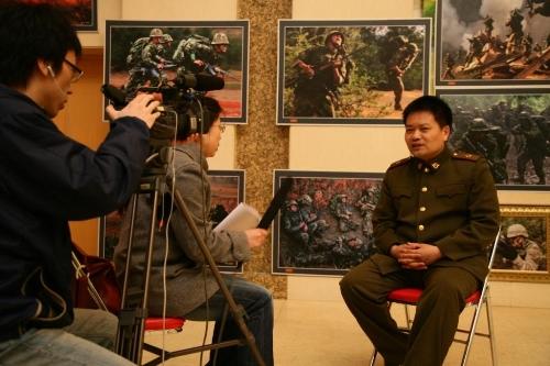 士兵突击的大型展览 - 王宝强 - 王宝强 的博客