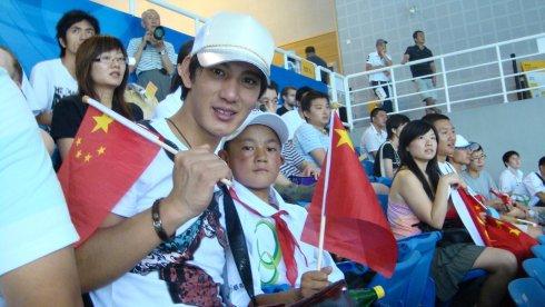 带着家乡的小朋友看了一场奥运比赛 - 蒲巴甲 - 蒲巴甲的博客