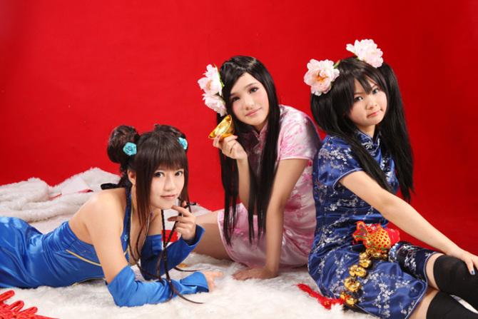 2010新年贺圆 - 翱羽 - 翱羽 の 幻兽天空