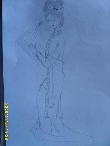 我的铅笔画 - 云淡风轻 - 云淡风轻