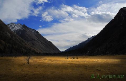 (原摄)四姑娘风景区---双桥沟风景之一 - 高山长风 - 亚夫旅游摄影博客