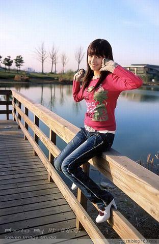 青纯☆上海○第一□美女沈丽君  - 湖水の颜色 - 湖水の颜色博客