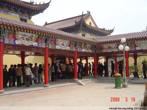 《原创》漂行胶东(1)--庆云海岛金山寺 - 水上漂 - 水上漂的博客