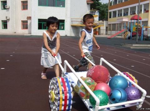 自制体育器械图片