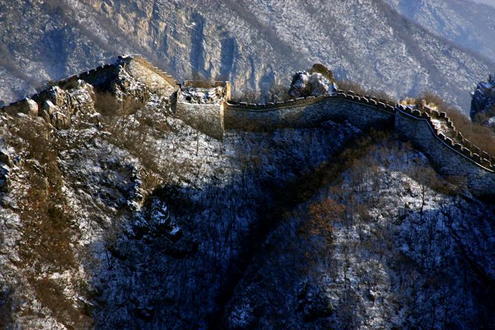 (原创摄影)箭扣冬日之一 - 刘炜大老虎 - liuwei77997的博客