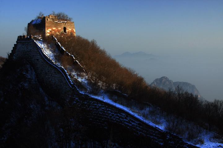 (原创摄影)箭扣长城冬日之七 - 刘炜大老虎 - liuwei77997的博客