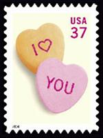 心相印 情浪漫 情人节邮票欣赏图片