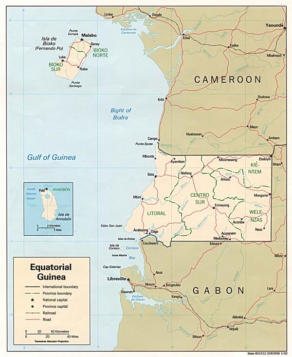 非洲经纬度地图