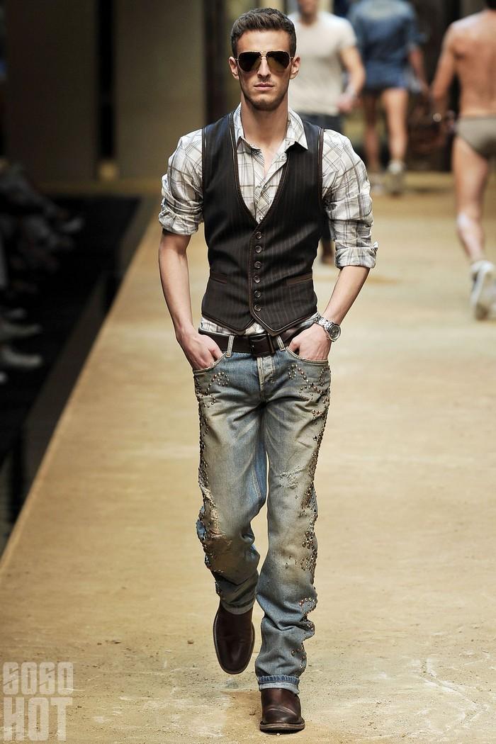 DG 2010 米兰春夏男装 - 有你就好 - 还好吗