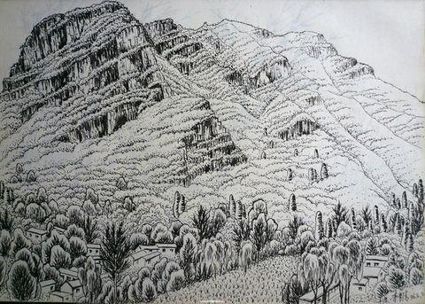 国画《绿浪千重》的创作感想(宗禅随笔) - 宗禅君 - 宗禅君的博客