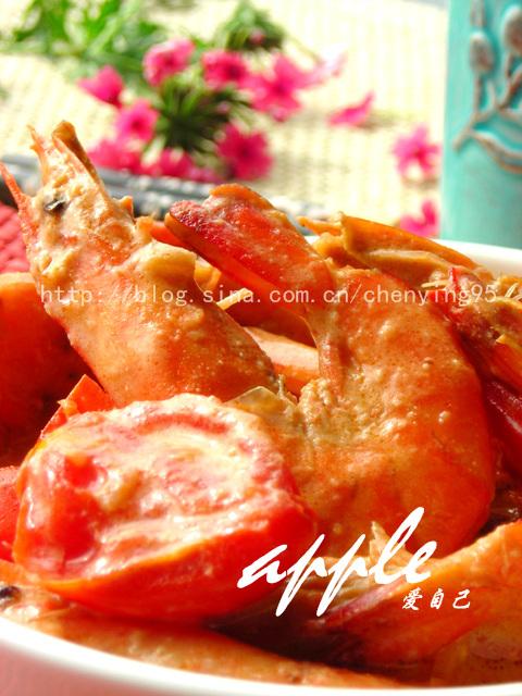 自创强效美白菜:红酒奶香茄汁虾*29道菜轻松玩转厨房 - 可可西里 - 可可西里