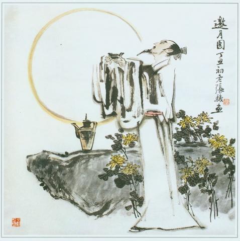 张骏国画------古代文人学仕 - 老树繁根 - 老树繁根