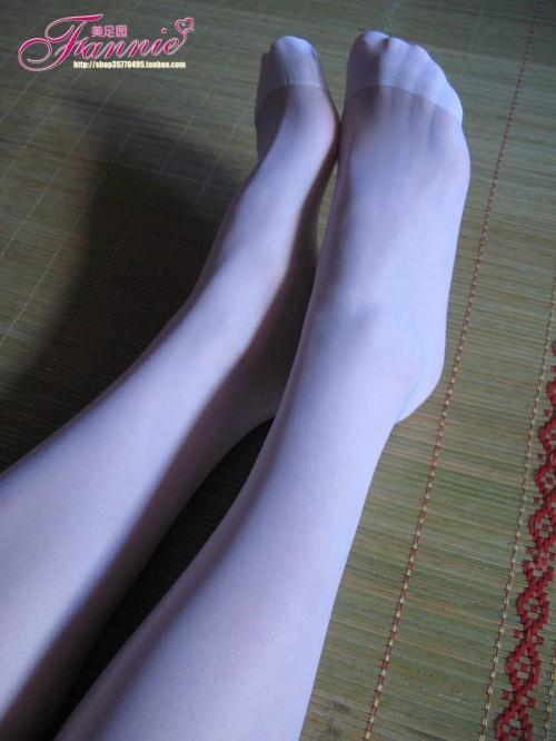 【丝情画意】白色恋歌 - fannie - fannie美足园