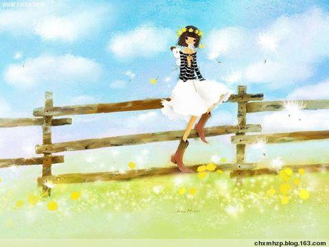 静看庭前花开落,尽随天外云卷舒  - 趣趣豆漫画函授中心 - 趣趣在隐