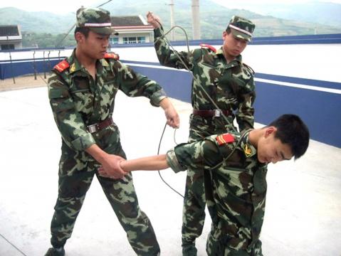 军警风采(捆绑训练篇)