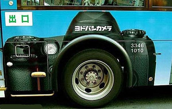 妙趣横生的车身广告[图] - 听雪 - 听雪。。。的声音