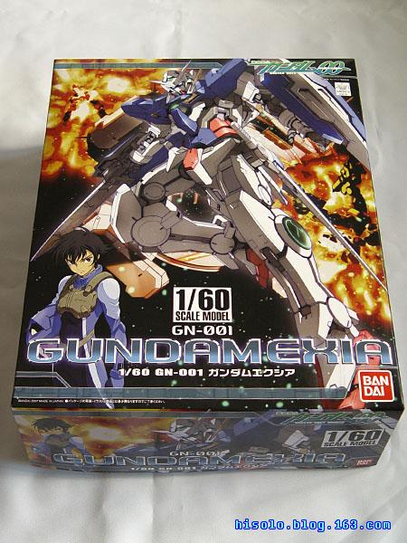 【模型】[2008-04-05]Gundam 00 EXIA  1/60入手 - SOLO - Solos Space