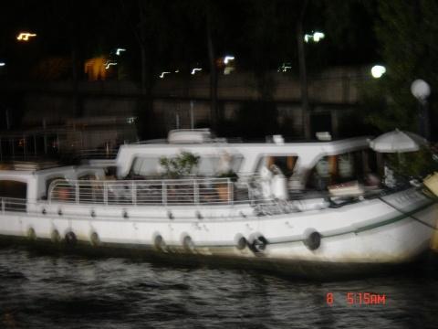 欧洲之行游记22 巴黎塞纳河夜景 高清图片