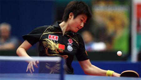 09-2009乒乓球世界杯女团决赛-组图回顾中新女乒十次交手 国乒从九