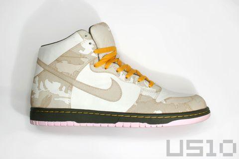 DUNK HI on<wbr>e piece - US10 - US10的鞋子们的故事
