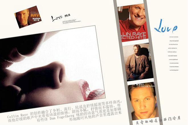 【感人抒情经典】 Collin Raye - Love me - 西门冷月 -                  .