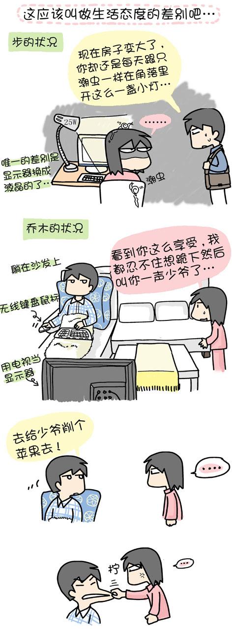 差别 - 小步 - 小步漫画日记