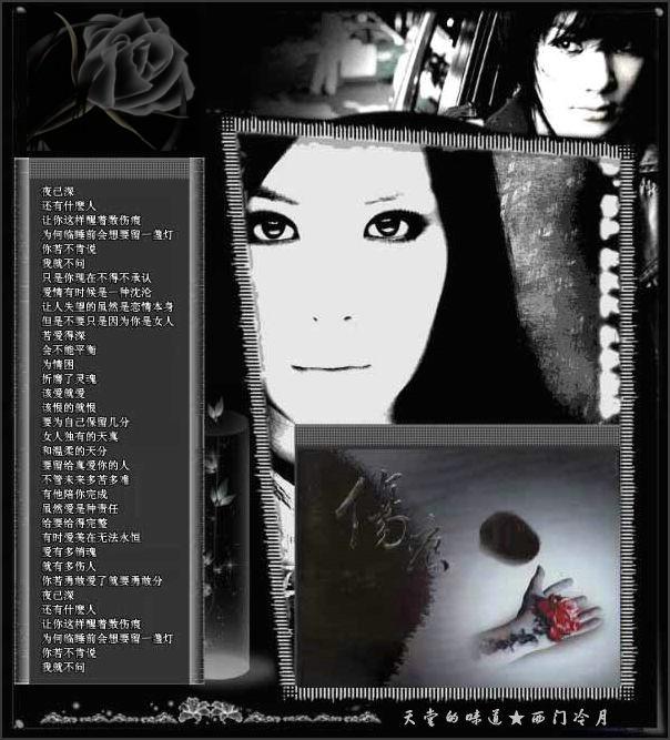 【经典回放】林忆莲《伤 痕》 - 西门冷月 -                  .