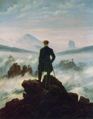 我喜爱的画家(之一)——卡斯帕.大卫.弗里德里希(Caspar David Friedrich) - 吕蕤冰 - 吕蕤冰