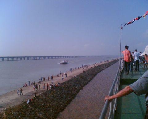 杭州湾大桥 - 淡然处世 - 畅潭