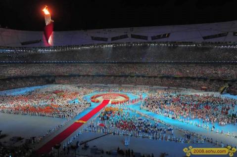 北京奥运记忆 - 平安使者 - 风儿飘向这里