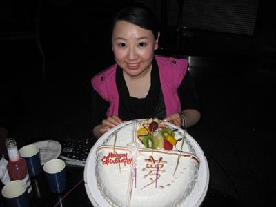 生日会 - 关凌 - 关凌(冰激凌)的博客