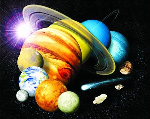九大行星金星