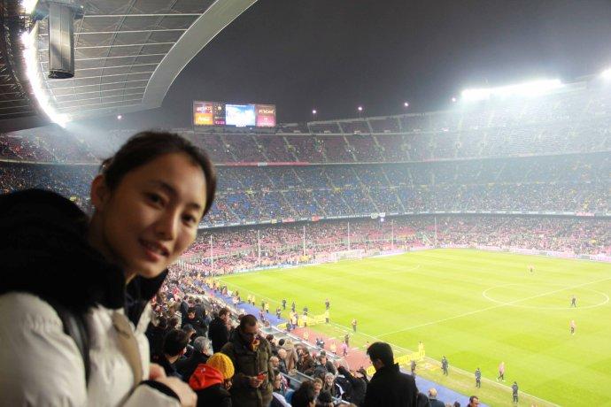 巴塞罗那足球场 - 刘芊含 - 刘芊含的博客
