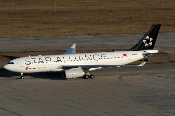 中国国际航空(Air CHINA) 星盟(Star Alliance)涂装 - 看更阿伯熙叔 - 看更房
