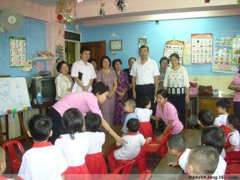领事部主任造访本会和妇女协会 - 仰光缅华互助会 - 缅华互助会