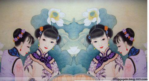 绣莲图 - 莲子 - 空中画缘的博客