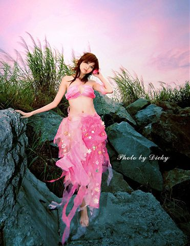 青纯红杉少女 - 湖水の颜色 - 湖水の颜色博客