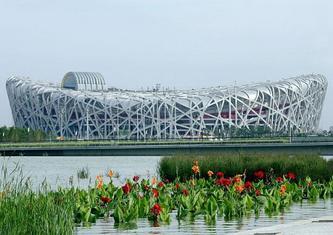 2008北京奥运会的三大地标:故宫、鸟巢、奥林匹克公园(图)