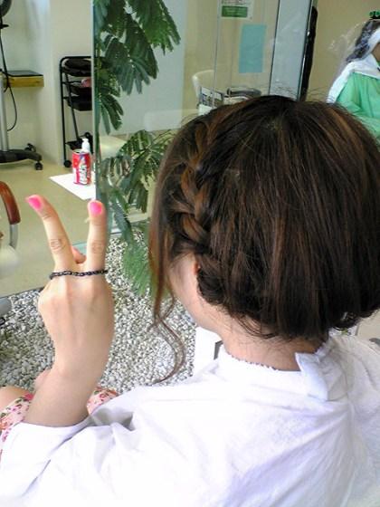 我又把头发剪短~(≧▽≦)/~啦啦啦 - 慧慧 - oh~~!Happydays 的博客
