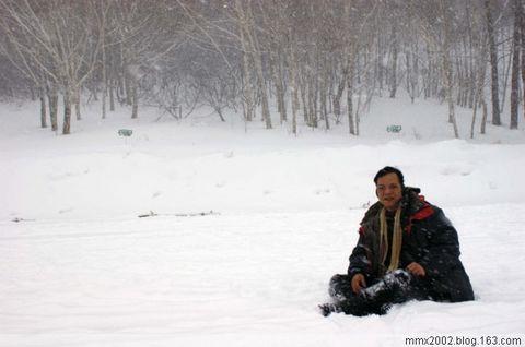 雪封长白山 - 明心 - 明心的博客