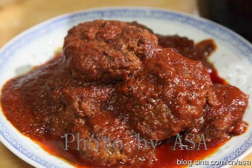 茄汁煎洋葱碎牛肉饼 - 懒蛇阿沙 - 懒蛇阿沙的博客