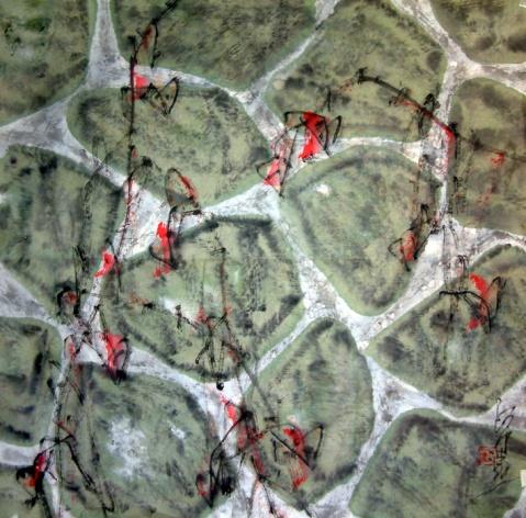 《攀》  著名表演艺术家 达奇/作 - 苏文 - 中国当代美术家——路中汉