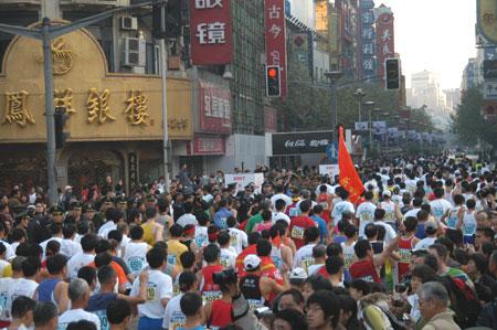 上马之前奏 - 湘北初哥 - 湘北初哥的Marathon日志