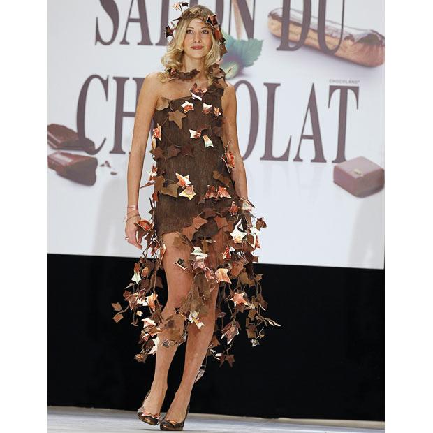 巴黎巧克力展开幕,惊艳巧克力时装秀明星助阵(组图) - 刻薄嘴 - 刻薄嘴的网易博客:看世界