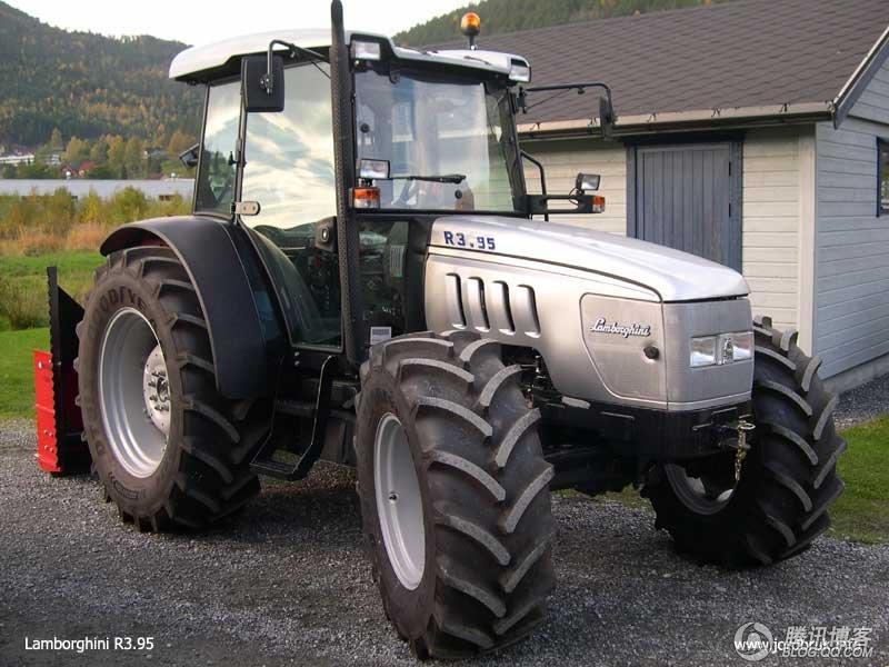 全世界农民的梦想 兰博基尼拖拉机nitro tracto高清图片